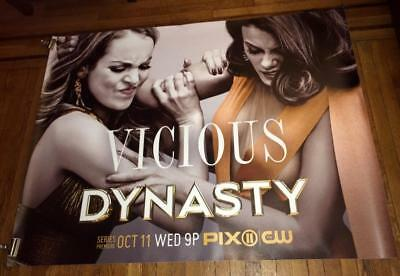 CW TV DYNASTY 5FT SUBWAY POSTER #3 2017 Elizabeth Gillies