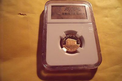 2009-S BRONZE LINCOLN BIRTH & CHILDHOOD NGC PF 70 RD ULTRA CAMEO 1C *Brown Label