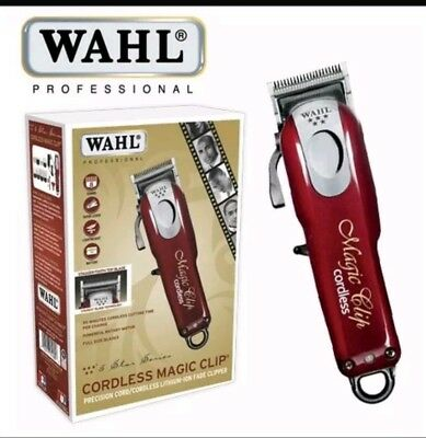 Wahl Professional 5 Star Series Cordless Magic Clip #8148 FREE SHIPPING!!