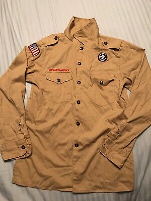 Official Boy Scouts of America Uniform Youth Medium Long Sleeve Shirt