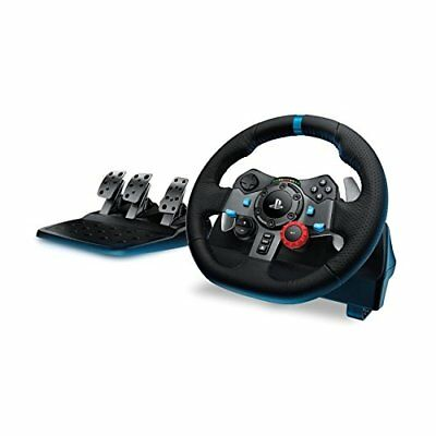 Logitech Driving Force G29 Racing Wheel for PlayStation 4 and 3 Controllers Game