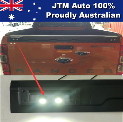 LED Light to suit Ford Ranger PX PX2 Tailgate Cover Matte Black 2012-2018