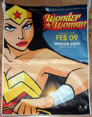 WONDER WOMAN Movie Giant Promo SWAG BAG 2008 Comic Con SDCC Justice League WB