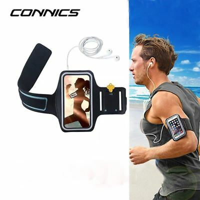 4S 5S 5C 5G 6 6S Plus Dirt-resistant Hand Bag Running Arm Band Leather Case For