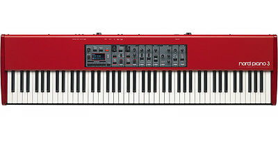 NORD PIANO 3 88-Key Triple-Switch Grand Weighted Hammer Action Keyboard NEU