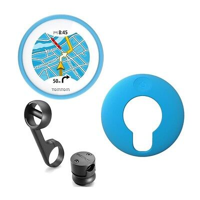 TomTom VIO GPS pour Scooter Housse silicone bleue