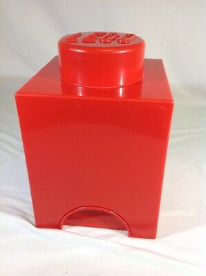 Lego Storage Brick 1 Red Storage Box