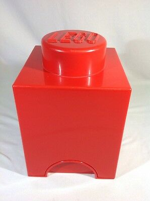 Lego Storage Brick 1 Red Storage Box.