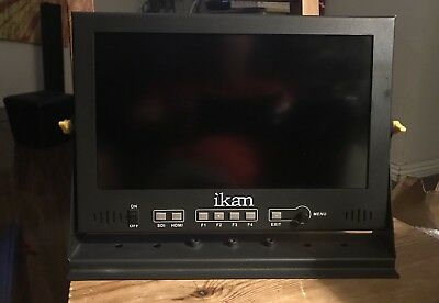"Ikan D12 11.6"" 3G-SDI +hdmi Full HD Monitor with IPS Panel +V-MOUNT Power!"