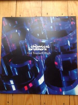 "the chemical brothers Get Yourself High 12"" Double Vinyl"
