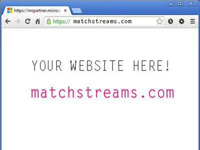 matchstreams.com Premium Domain name  five year aged Ready for transfer today!