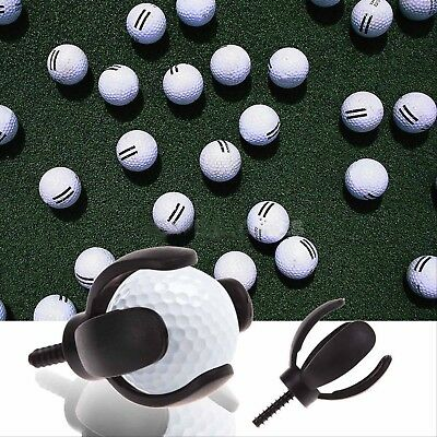 4-Prong Golf Ball Pick Up Retriever Grabber Claw Sucker Tool For Putter Grip LiF