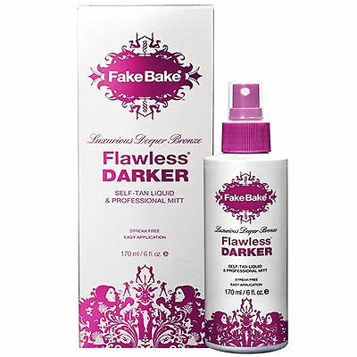 Fake Bake Flawless Darker Self Tan Liquid 170ml Self Tanning