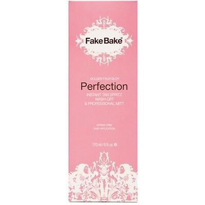 Fake Bake Perfection Instant Self Tan Spritz 170ml Slight Damage to Packaging