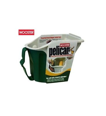 Wooster Pelican Hand Held Paint Kettle Tray Scuttle With Disposable Liners