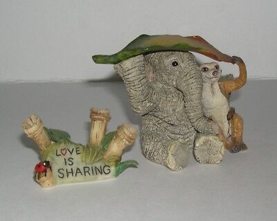 Country Artists Elephant Tuskers Love is Sharing with Name Tag 90850 from 2000