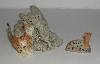 Country Artists Elephant Tuskers Love is A Friend with Name Tag 90849 from 2000