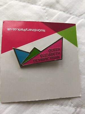 Queen Elizabeth Olympic Park Official London 2012 Olympic Games Pin Badge New
