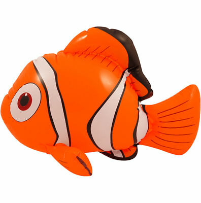 Inflatable Clown Fish Nemo Orange Blow Up Ocean Toy Play Pool Dory Fishes