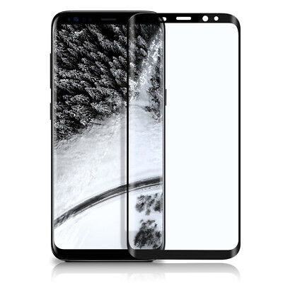 3D Panzer Glas für Samsung Galaxy S8 Plus Full Screen Protector Cover Curved 9H