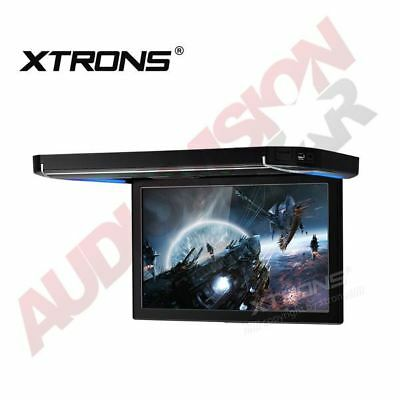 """XTRONS CM121HD Ultra-thin Car Roof Mount Overhead Monitor 12.1"""" Wide Screen HDMI"""