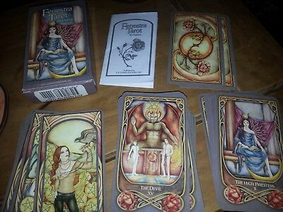 FenestraTarot  Full Deck of cards by Chatriya Excellent Condition