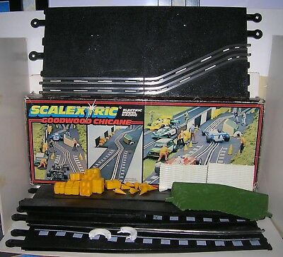 Scalextric Goodwood Chicane - Boxed