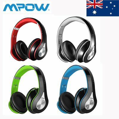 MPOW Wireless Bluetooth Headset Foldable Sports Handsfree Headphone for iPhone