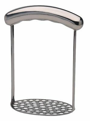 Kitchen Craft Stainless Steel Potato Masher With Oval Handle