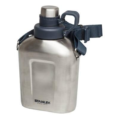 Stanley Adventure Vacuum Insulated Canteen 1L, Stainless Steel Camping, DofE