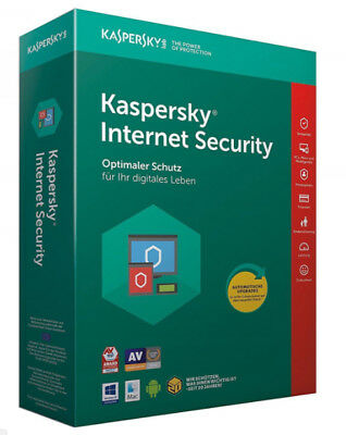Kaspersky Internet Security 2018 2 Geräte /  2 Jahr Vollversion Key ESD Download
