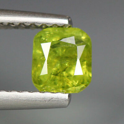 0.59 Cts_Stunning Very Rare Collection_100 % Natural Demantoid Garnet_Russia