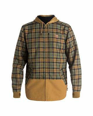 NEW DC Shoes™ Mens Backwoods Long Sleeve Technical Snow Shirt DCSHOES
