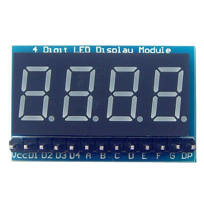 4-Digit 8 Paragraph LED Display Board Parallel Digital Tube Display Module ER