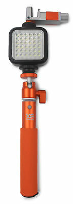 XSORIES XSHINE DELUXE COMBO U-SHOT PHOLDER 2.0 et Torche LED Xshine - Orange