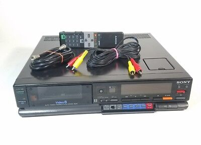 Vintage SONY EV-A300U Hi8 8mm Video Cassette Recorder Player w/ Remote