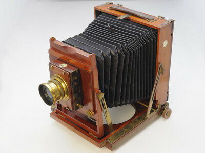 Beautiful wooden Thornton-Pickard view camera