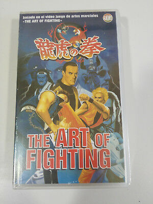 The Art Of Fighting Vhs Cinta Tape Castellano Anime Manga New Nuevo