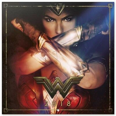 Wonder Women (Free Poster ) Official Calendar 2018