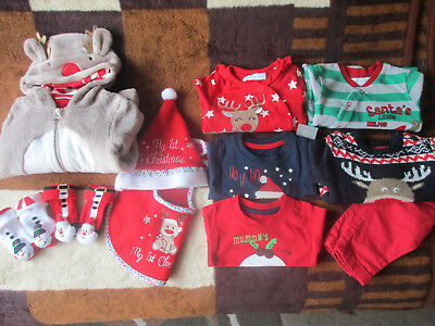 Baby Boy Christmas Bundle Size 0-3 months