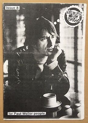 Paul Weller, The Jam - Weller Is Back Fanzine Issue 8, Mod