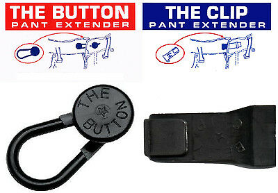 3 The Button Waist Extenders PLUS 2 The Clip  Fast Shipping!