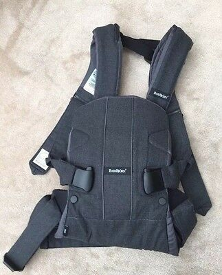 Baby Bjorn ONE Front and Back Denim Grey RRP £134.99 Excellent Condition!
