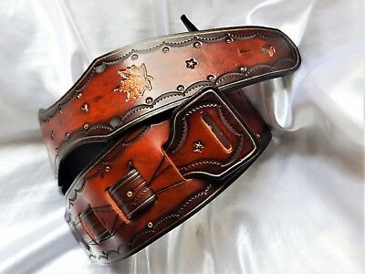 Gorgeous hand-made leather guitar strap. Great price!!