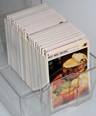 Australian Womens Weekly Recipe Card Library ~ COMPLETE