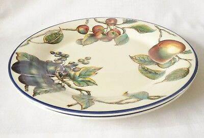 Staffordshire Autumn Fayre Dinner Plates x 2
