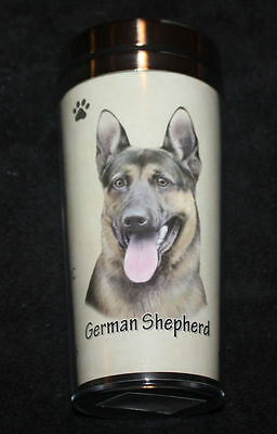 German Shepherd Dog Stainless Steel Insulated Travel Tumbler Thermos