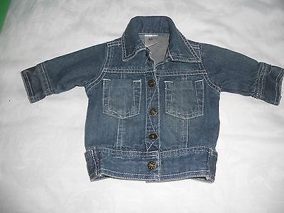 Baby boys Size 000 Pumpkin Patch denim  jacket