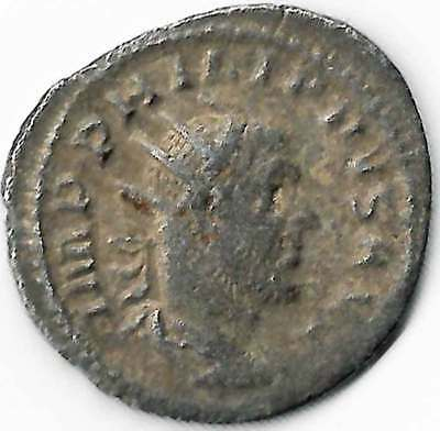 ROMAN IMPERIAL - PHILIP I (244-249AD) AR Antoninianus Rev. Roma seated left aVF