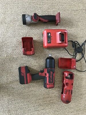 SNAP ON 18v LITHIUM 1/2 IMPACT WRENCH AND TORCH SET